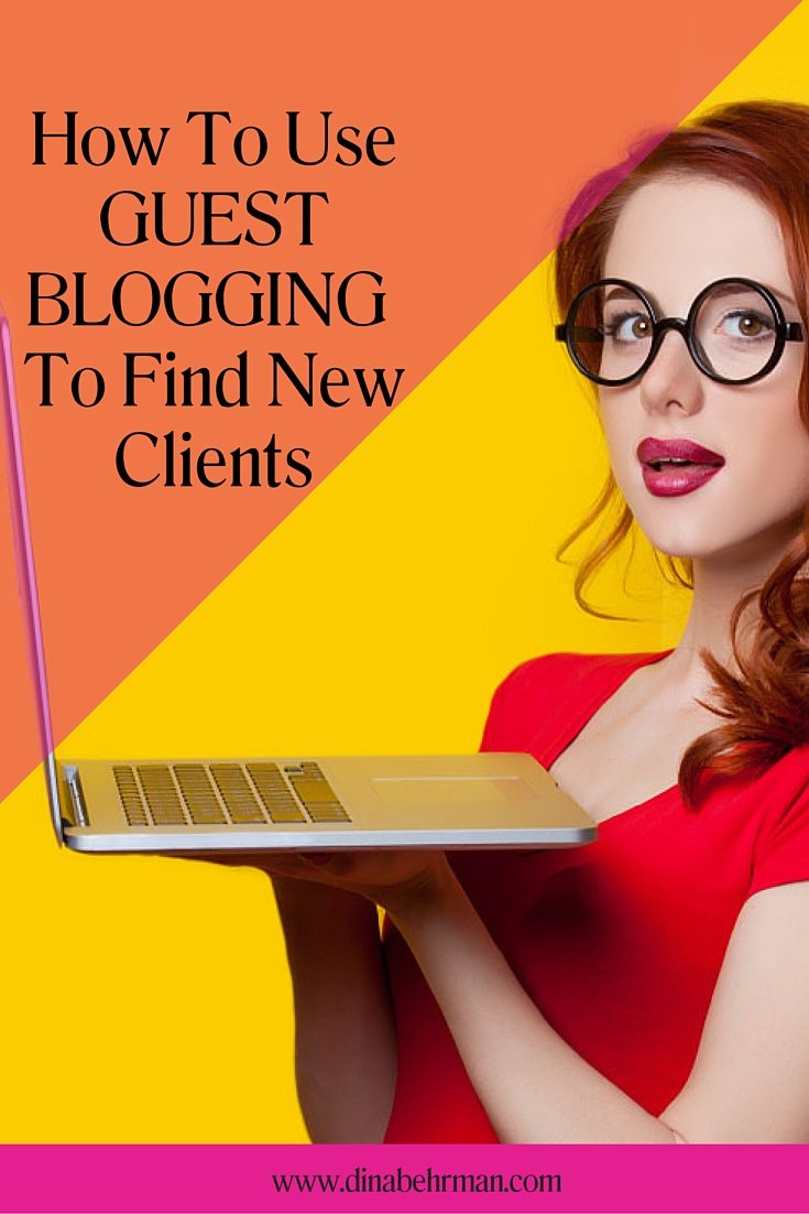 how to use guest blogging to find new clients